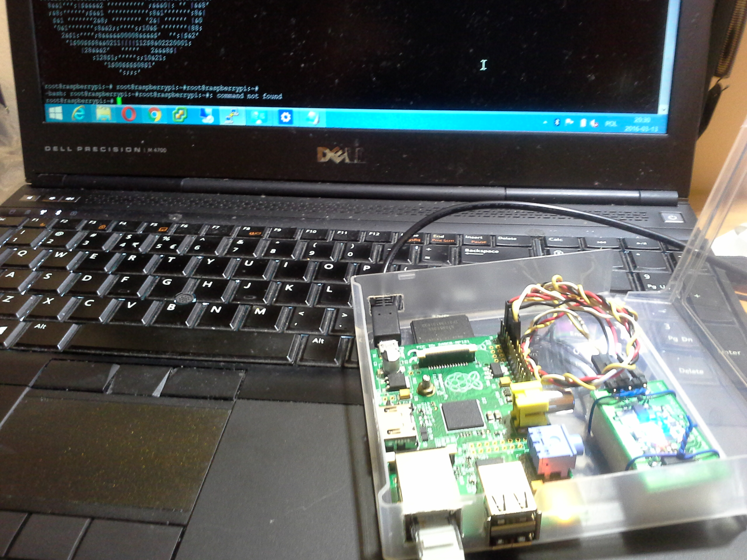 Serial Console to Raspberry Pi over Bluetooth |